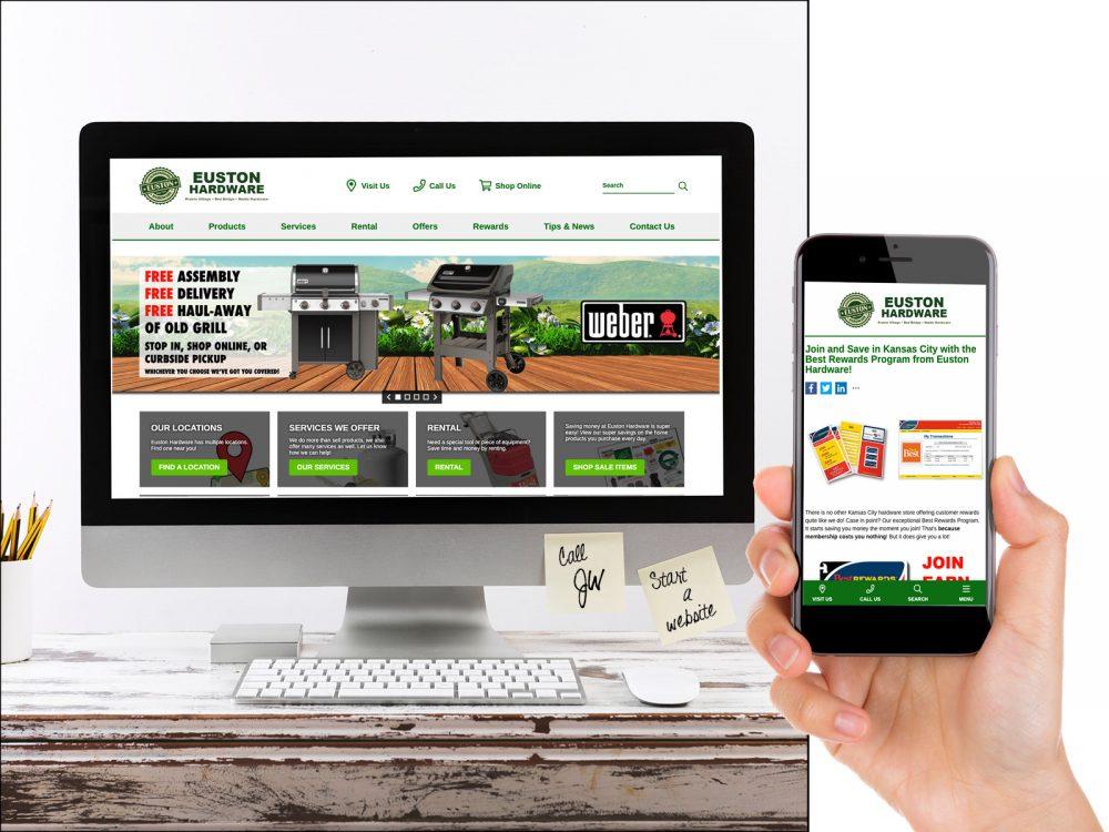 Euston Hardware Website Sample