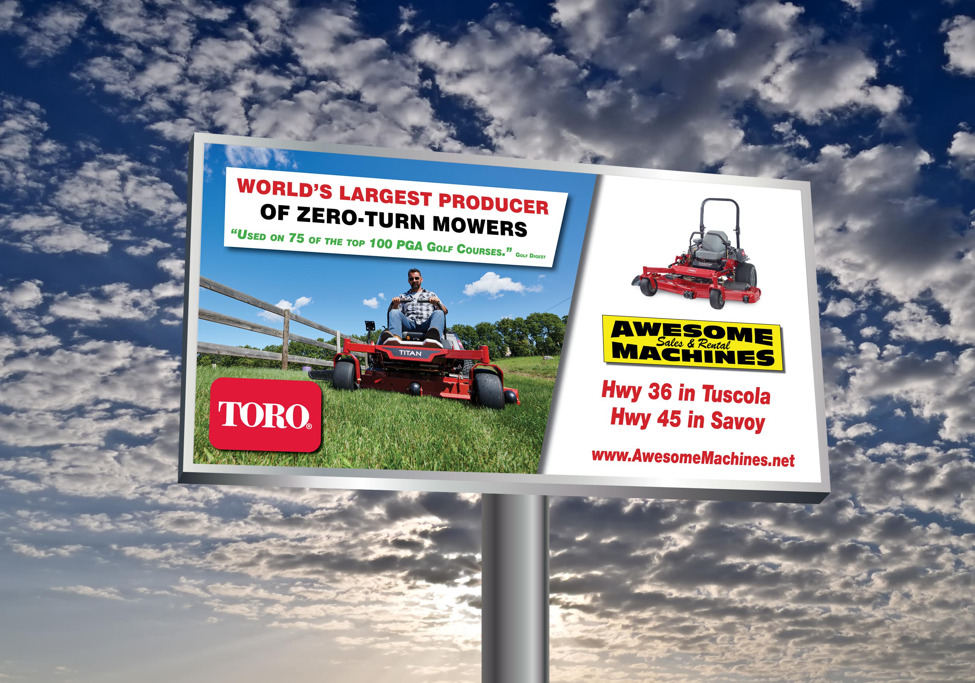 Billboard Advertising Sample