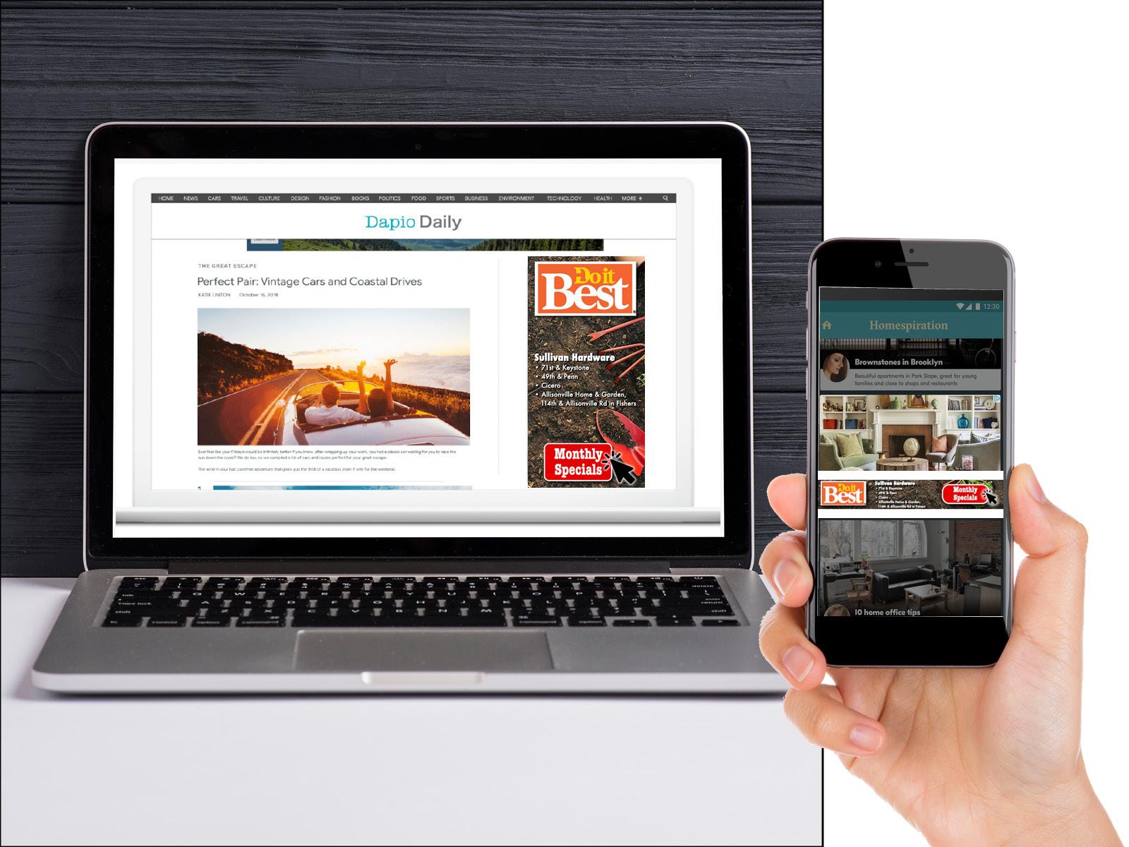 Sidebar Digital Display Ad Sample