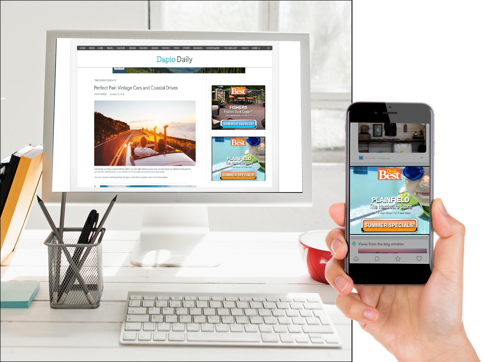 Digital Display Ad Samples