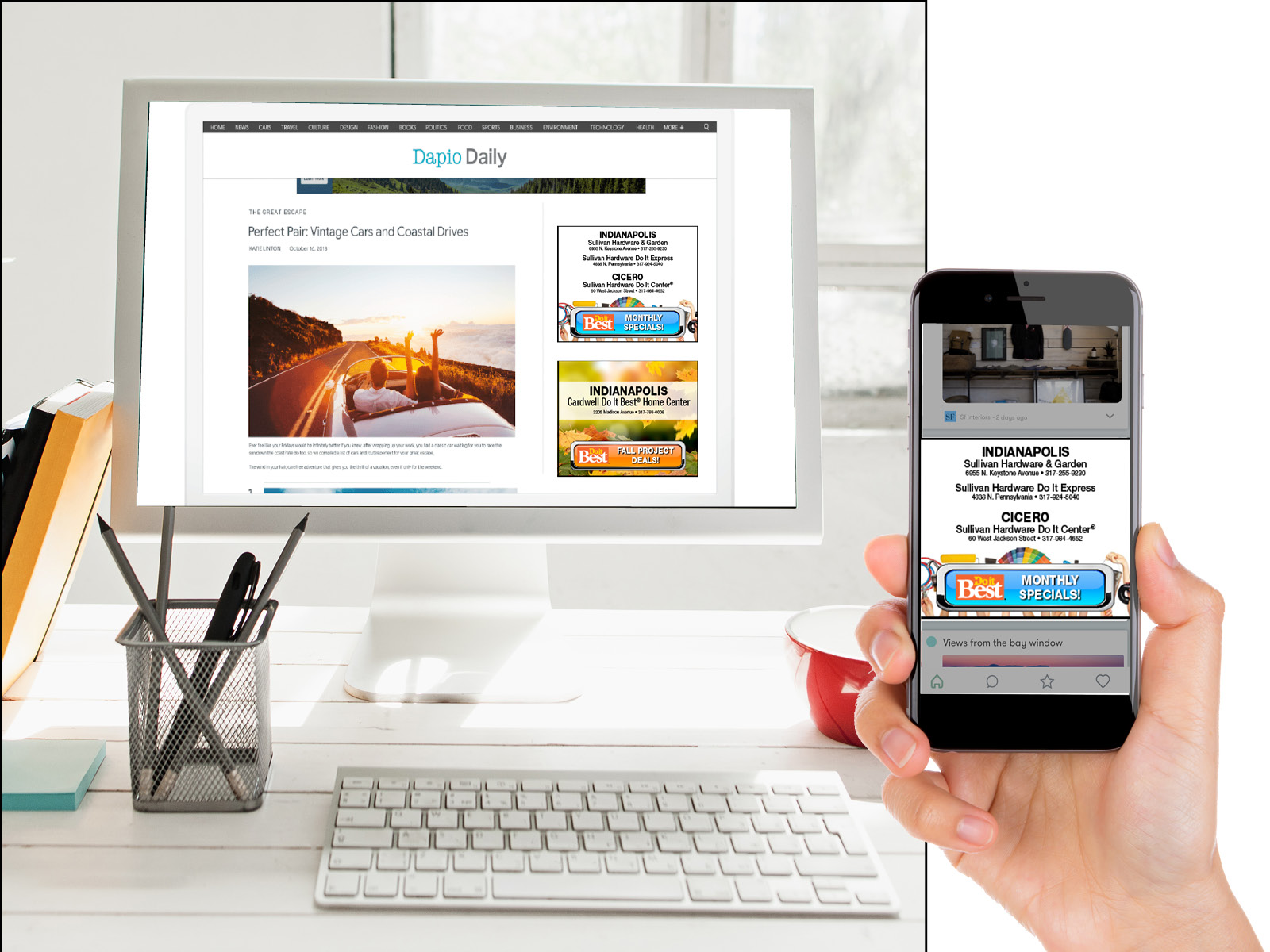 Group Digital Display Ad Samples