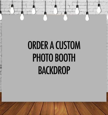 custom photo backdrop