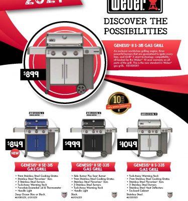 2021 weber grills brochure