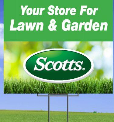 scotts yard sign