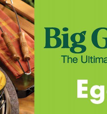 big green egg end cap header