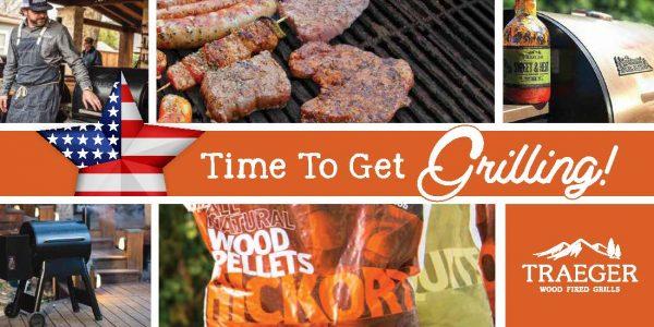traeger grills postcard