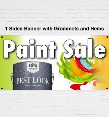 valspar paint sale banner
